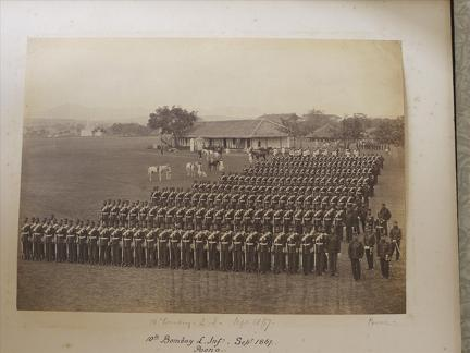 10th Bombay Light Infantry Poona Sept 1867