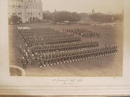10th Bombay Light Infantry, Bombay 1885