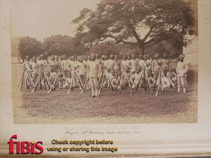 10th Bombay Light Infantry Picquet (Picket) 1885