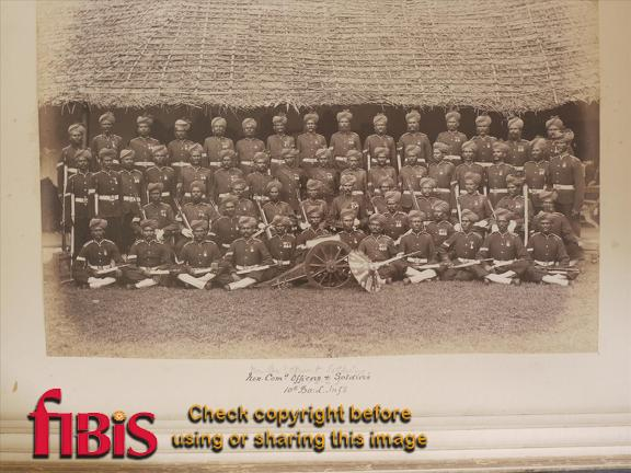 Non Commissioned Officers and Soldiers. 10th Bombay Light Infantry