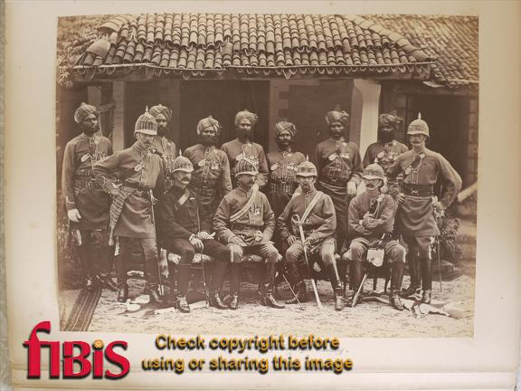 Officers. 3rd Queens Own Bombay Light Cavalry