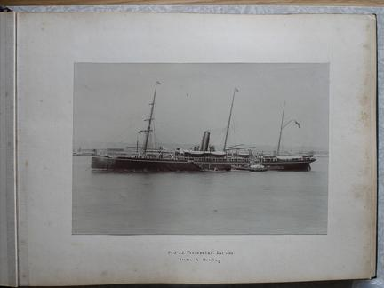 P & O SS 'Peninsular' Sept 1900 London to Bombay