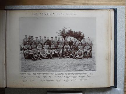 Mountain Battery Group Mansehra Camp November 1904
