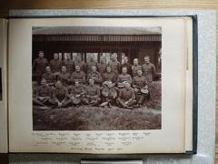 Gunnery Staff Course 1906-1907. Probably England