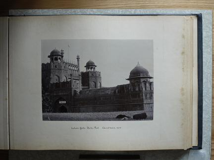 Lahore Gate, Delhi Fort, Christmas 1902