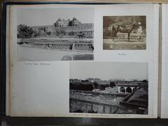 The Fort, Agra Oct. 1902