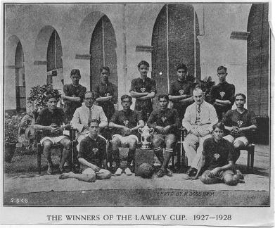 The winners of the Lawley Cup 1927-1928