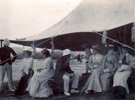Officers and Staff Purandhar 1902