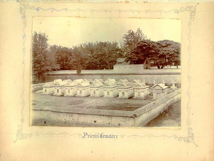 Priests Cemetery at St Patrick Bangalore