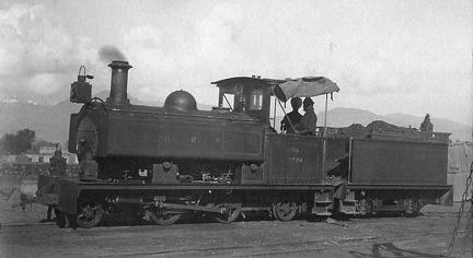 K T Railway locomotive #74