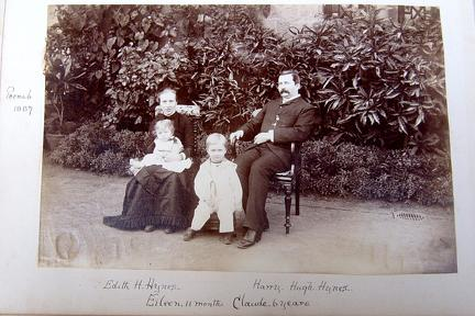 Hynes Family at Poonah 1887
