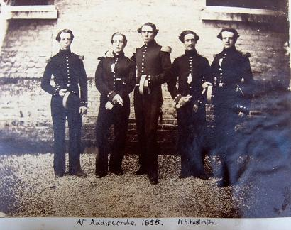 Officer Cadets at Addiscombe 1855