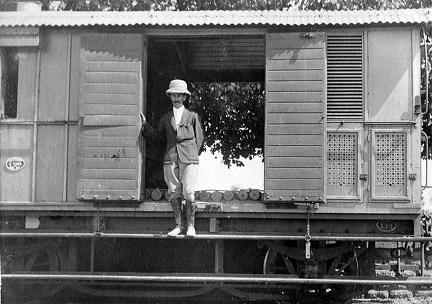 """Off on tour"" NWR, 1907"