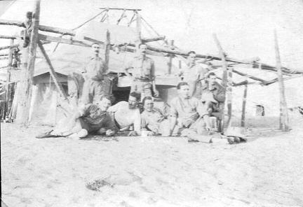 By tent Cawnpore 1915