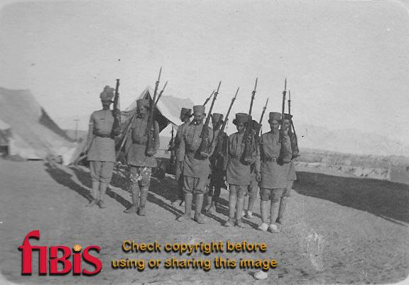 Native Infantry Peshawar 1915