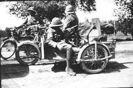 Motor Cycle Duty 1915