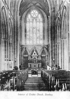 Bombay Colaba Church Interior