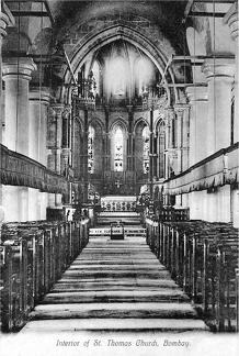 Bombay St Thomas Church Interior