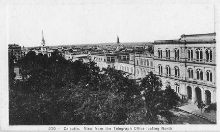 Calcutta North from Telegraph Office