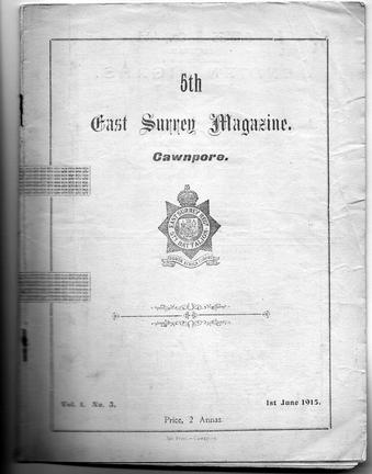 East Surrey Regiment Magazine 1915