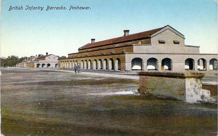 Peshawar British Infantry Barracks