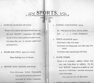 Sports Day Catalogue 1915