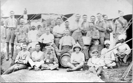 East Surrey Regiment Canteen 1915