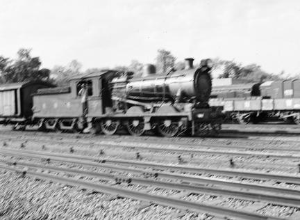 NWR 0-6-0 at Rawalpindi
