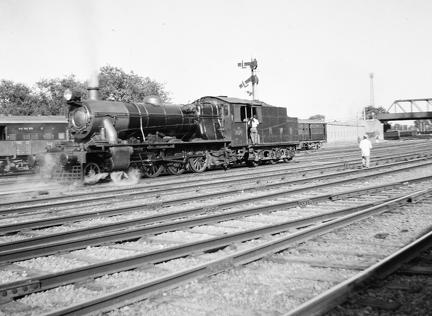 NWR 4-6-2- at Rawalpindi
