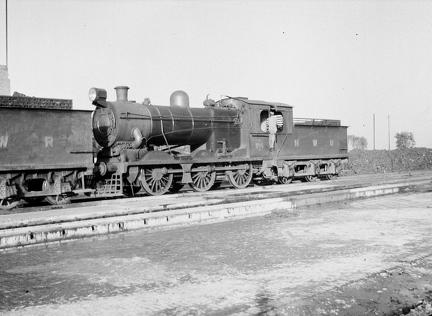 NWR 1195? 0-6-0 at Rawalpindi