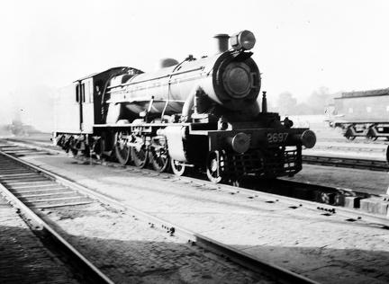 NWR 2697 4-6-2 at Rawalpindi