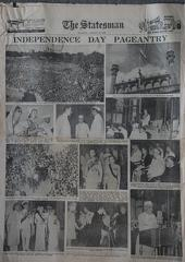 The Statesman 19th August 1947