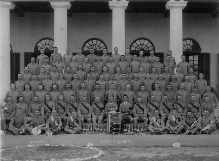 John Richard William Lee Skinner with G Coy 2nd Dorsets at Bangalore