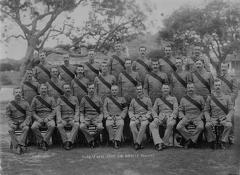 John Richard William Lee Skinner with Sergts Mess Group 2nd Dorsets at Bellary