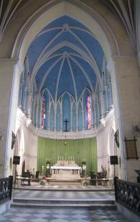 Altar St James Church, Calcutta