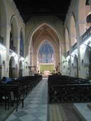 Interior of St James church, Calcutta