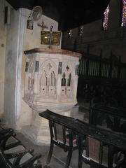 Pulpit at St James church, Calcutta