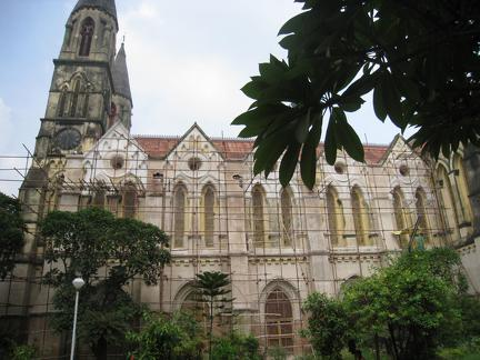 Exterior View of St James church, Calcutta