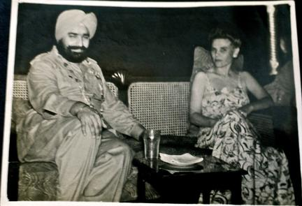 Marie Metcalfe at court of Maharaja Partap Singh of Nabha