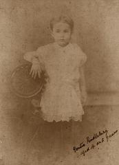 Gertie Pendlebury (5 or 6 years)