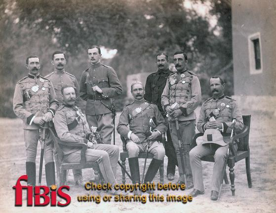 2nd Sikhs Jubilee Group. Dera Ghazi Khan, Punjab 1896