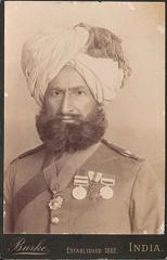 Honorary Captain Sher Baz Khan, 2nd Sikhs Punjab Frontier Force