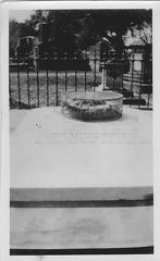 Henry Lawrence's grave in the Residency, Lucknow.