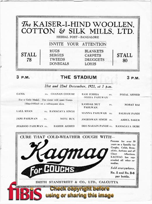 Calcutta Exhibition Programme - Page 7