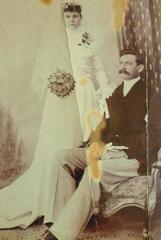 Wedding of James Birney Goff and Elizabeth Jane Brackstone