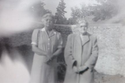 Sybil Enid Cowling Kay (nee Goff) and Olive May FitzGerald (nee Goff)
