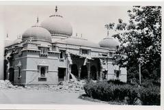 Quetta Sandeman Hall after earthquake