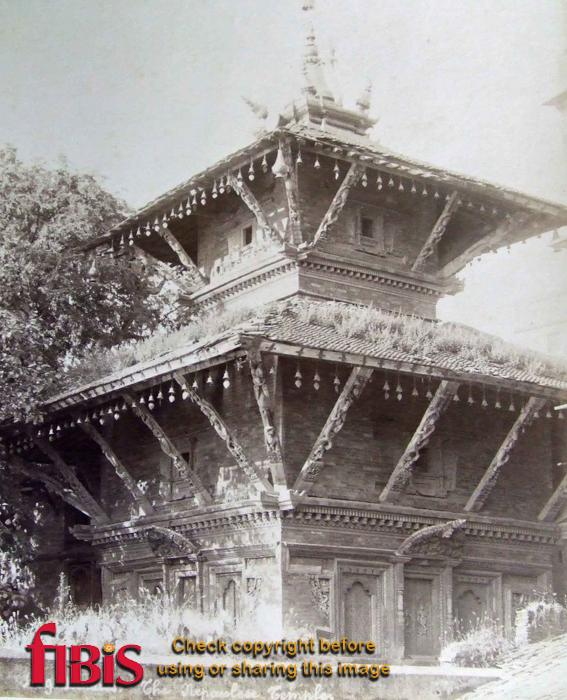 Nepalese Hindu Temple at Benares.jpg