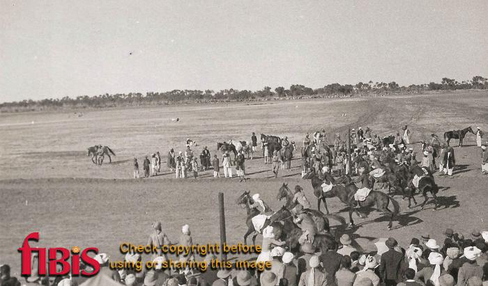 The Start Biloch Races, Jacobabad, Sind
