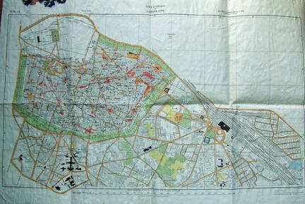 Map of Lahore 1921